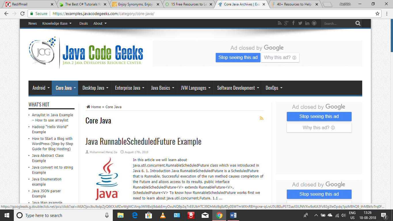 Learn Java: Tutorials for Beginners, Intermediate, and
