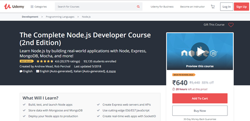 Learn Node js: Tutorials for Programmers of All Levels