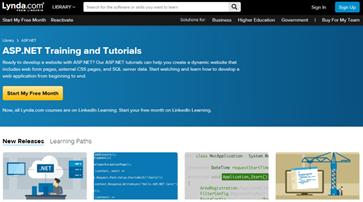 Learn ASP NET: 30 Tutorials, Resources, Websites