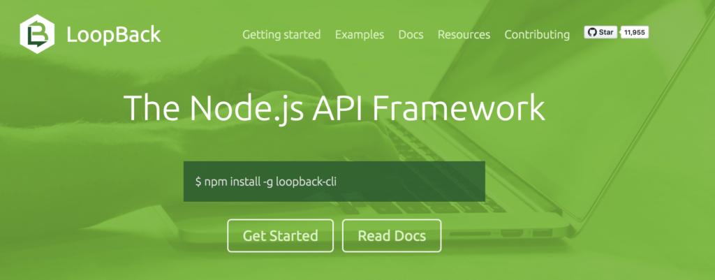 LoopBack Node.js Framework