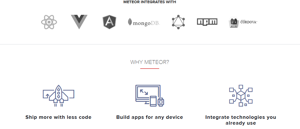 Meteor developer tool