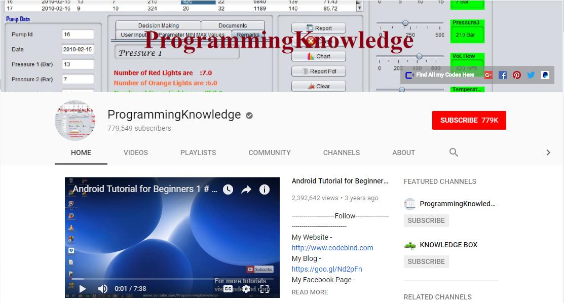 Programming Knowledge