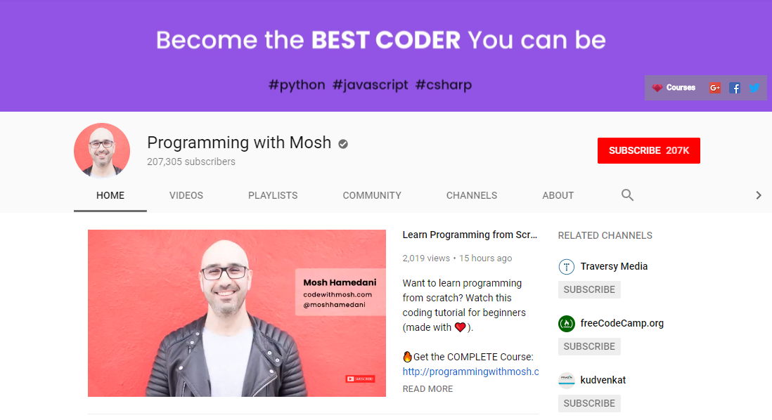 Programming with Mosh