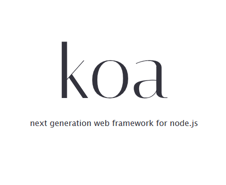Koa.js developer tool