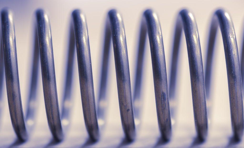 metal spring coil