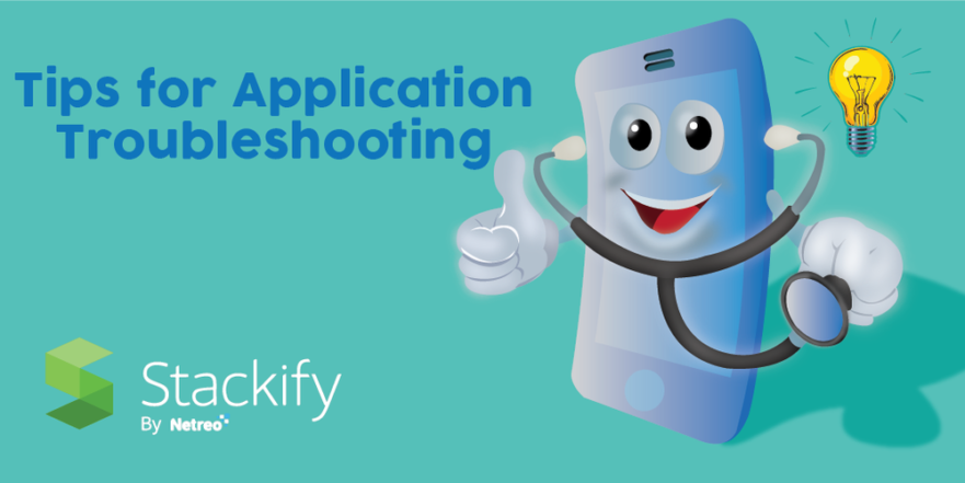 application troubleshooting