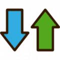 scale up and down icon